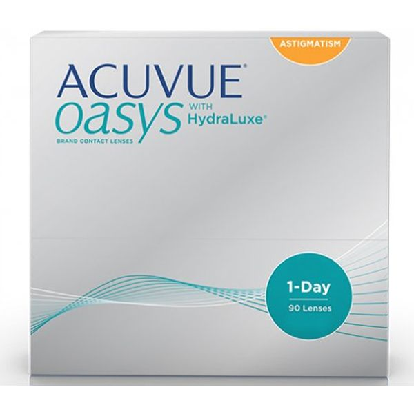 1 Day Acuvue Oasys for Astigmatism 90 - Lentilles de contact