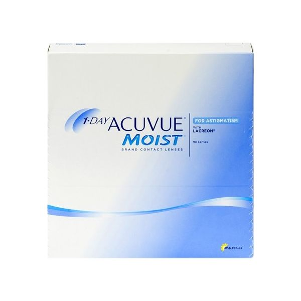 1 Day Acuvue Moist for Astigmatism 90 - Lentilles de contact