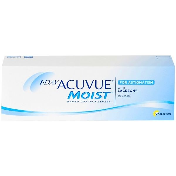 1 Day Acuvue Moist For Astigmatism 30 - Lentilles de contact