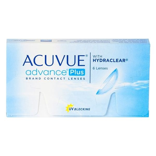 Acuvue Advance Plus with Hydraclear - Lentilles de contact