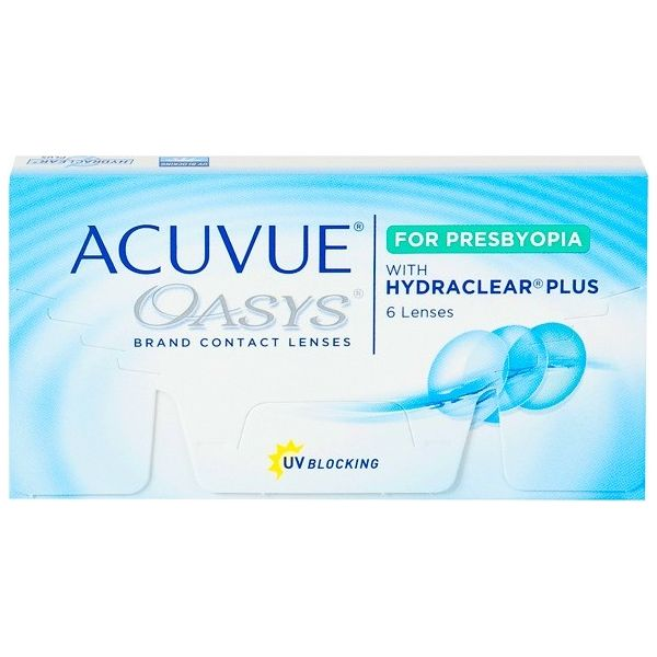 Acuvue Oasys For Presbyopia - Lentilles de contact