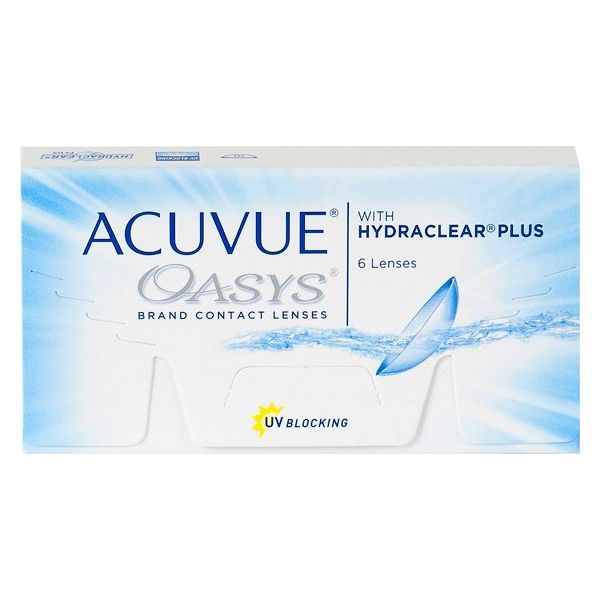 Acuvue Oasys with Hydraclear Plus - Lentilles de contact