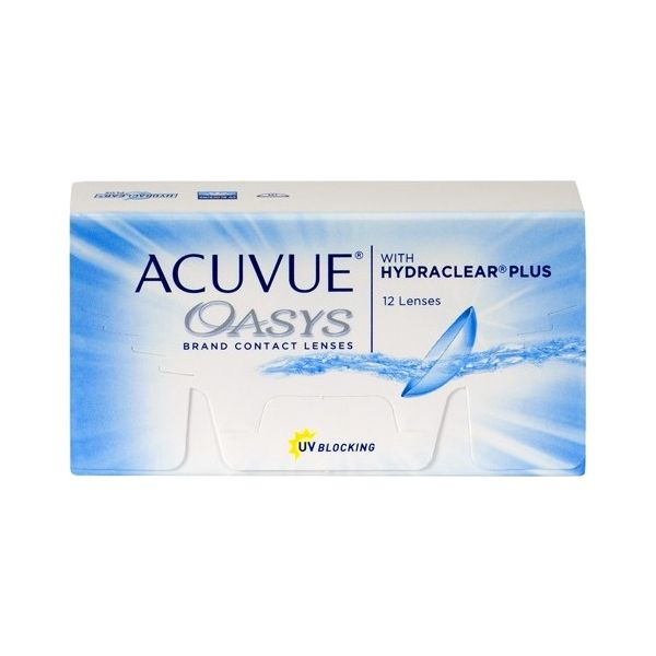 Acuvue Oasys 12 with Hydraclear Plus - Lentilles de contact