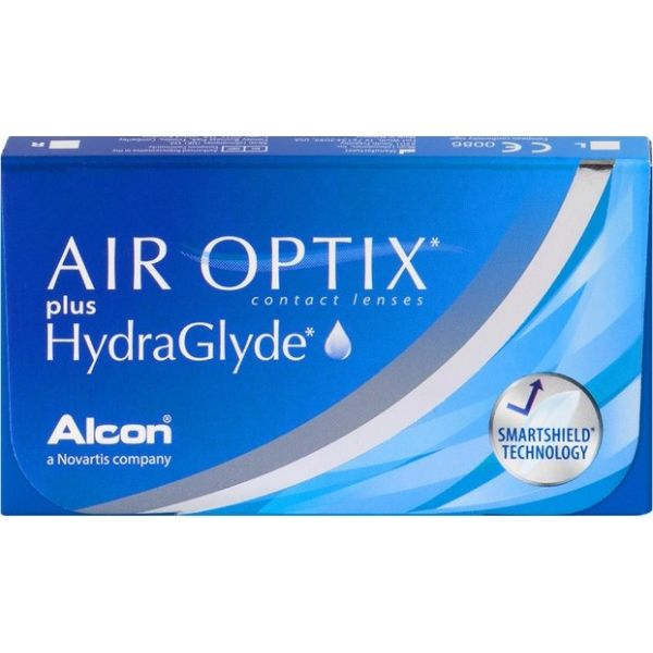 Air Optix Plus Hydraglyde - Lentilles de contact
