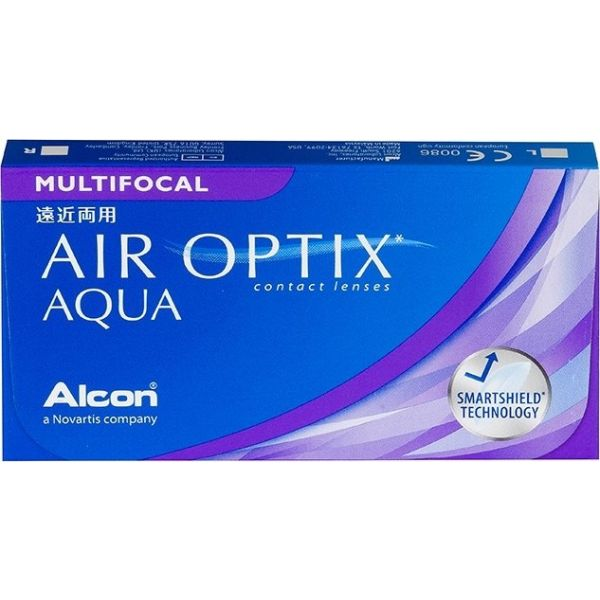 Air Optix Aqua Multifocal - Lentilles de contact