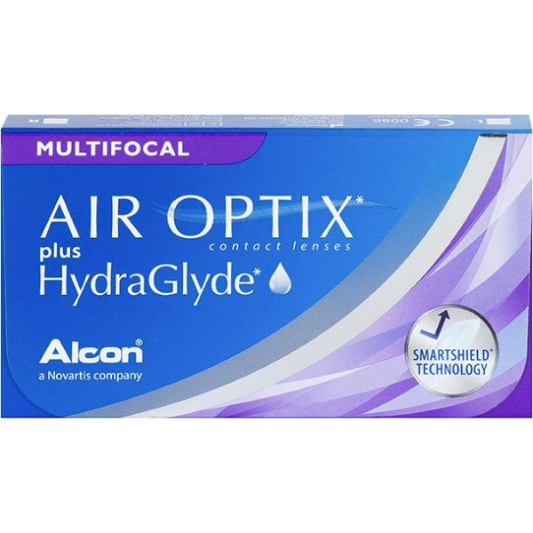 Air Optix Plus Hydraglyde Multifocal - Lentilles de contact
