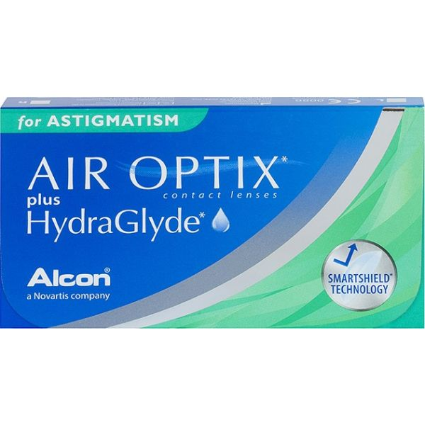 Air Optix Plus Hydraglyde for Astigmatism - Lentilles de contact