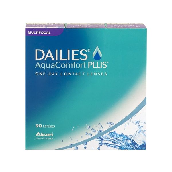 Dailies aqua comfort Plus Multifocal 90 - Lentilles de contact